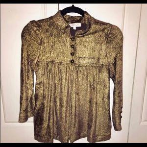 LaRok gold fashion jacket size L